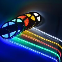 Wholesale colors IP67 Tube Waterproof SMD m LEDs DC12V LED strip lights waterproof casing LED Flexible lamp underwater lights