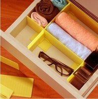 Wholesale High quality plastic GRID Drawer Divider Storage Organizer Set Tidy New