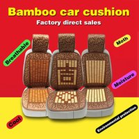 Wholesale General car seat cover all inclusive bamboo summer car mats ventilation cushions interior modeling protection