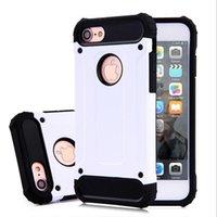 Pour l'iphone 7 cas de téléphone portable protection de téléphone couverture dur lourds TPU 6s plus 6 TPU choc preuve samsung galaxie s7 S6 bord N182