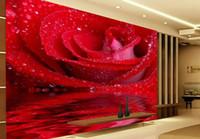 Wholesale customize d stereoscopic wallpaper Landscape bridge wallpaper for walls d photo living walls wallpapers living room