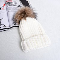 ball of yarn - 2016 high quality winter hats with Heavy hair ball Thickening of wool Outdoor knitted cap Beanie Skull Caps
