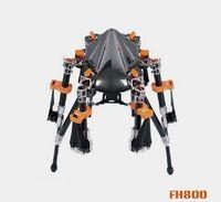 al por mayor marco de fpv quadcopter-X-CAM KongCopter FH800 Pro Marco de Quadcopter plegable de fibra de carbono de 4 ejes con tren de aterrizaje para FPV SIN CUBIERTA