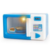 Wholesale Mini Simulation microwave oven toy for kid lovely classic electric furniture toy best gift for child