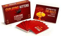 big black paper - Exploding Kittens Cards Board Game with NSFW and Red Version Familay and Friends Party Playing Card Game Hot