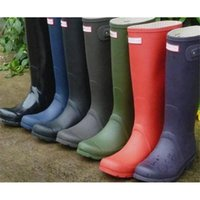 Wholesale 2017 H Rain Boots Waterproof Wellies Wellington galoshes rain boot shoes woman high heel women s boots