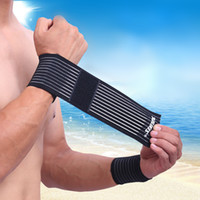 Wholesale Aolikes Fitness Cotton Strength Bandage Adjustable Wristbands Elaborate Elbow Wrist Support Compression Wrap Wrister Brace Guard A
