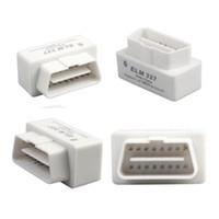 Wholesale Mini ELM327 OBD2 Bluetooth Adapter ELM V2 OBD OBDII Scanner Diagnostic Scan Tool Car Code Reader OBD II ELM