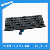 Wholesale Brand New Keyboard for Macbook Pro Retina quot A1502 Replacement GR Keyboard Year
