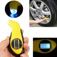 Wholesale LCD Digital Tire Tyre Air Pressure Gauge Tester Tool Fr Auto Car Motorcycle M00095 VPWR