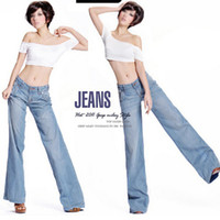 Cheap Plus Size Wide Leg Flare Jeans | Free Shipping Plus Size ...