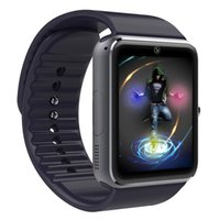 better quality - Best Quality Smart Watch GT08 Clock With Sim Card Slot Push Message Bluetooth Connectivity Android Phone Better Than DZ09 Smartwatch MD1