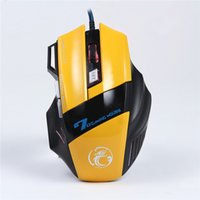 Wholesale High Quality X7 Professional Wired Gaming Mouse Button DPI LED Optical USB Gamer Computer Mouse Mice Cable Mouse