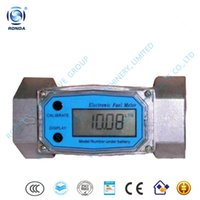 Wholesale WLL low cost small aluminum turbine diesel flow meter quot