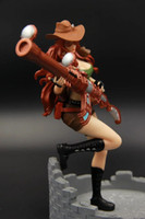 League Of Legends   2017 The Sheriff Of Piltover Caitlyn Figures LOL Champions Action Figures League of Legends Game Accessories Cute Cartoon Q Model Toys Dolls
