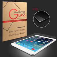 Wholesale For iPad Mini Pro iPad Screen Protector Anti Scratch H HD Clear Film iPad Air Tempered Glass With Premium Package