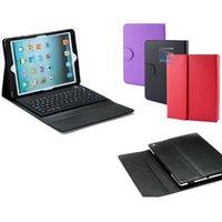Étui en cuir de clavier de Bluetooth sans fil pour iPad Mini 1/2 Ipad Air / 5 TAB4 T530 T230 T330 7''8''10