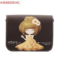 Wholesale Assez sac mini leather handbags women messenger bags clutches single shoulder bag female bolsas ladies pouch crossbody LS7396as