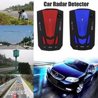 Wholesale 2017 New V7 Cobra Car Radar Detector Radar Laser Speed Detector With English Russian Voice laser detector car GPS