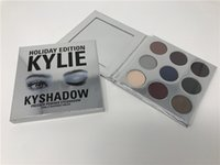 Wholesale Kylie Cosmetics Kyshadow Pressed Powder Eye Shadow Palette Holiday Edition Kyshadow Holiday Palette Colors In Stock