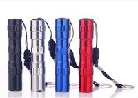 Mini Flashlights aa alloys - Portable outdoor tactical waterproof flashlight AA battery aluminum alloy material Mini flashlight