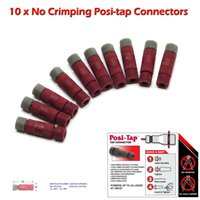 Wholesale Posi tap Connectors Gauge Wire Bulk Pack of No Crimping Or Tools Required No Cutting