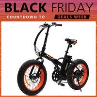 aluminum tires - Addmotor MOTAN Cycling M Sport Orange FOLDING Fat Tire E Bike Matte Black W V AH quot Electric Bicycle