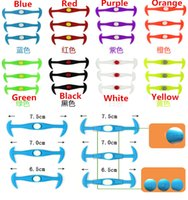 Wholesale with blister pack V Tie Most Creative Fashion Design New colorful Listed Lazy Laces silicone V tie round shoe laces Shoelaces DHL Free