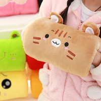 Wholesale Winter Cute Cartoon Plush Toys Hand Warmer Cartoon Animals Soft Hand Hold Warm Plush Cotton Toy Cushion Pillow Birthday Gift