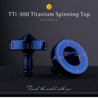Wholesale Hot Sale from the Inception Movie Spinning Top with Titanium alloy silver Inception TTi Titanium Spinning Top