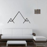 Estrella Moutain Shaped Wallpaper Linear Pattern Series Produits Décoration intérieure Stickers muraux Décoration de mode simple Livraison gratuite