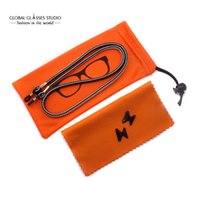 Wholesale Eyeglasses Accessorie sets including Anti Slip Silicone Nose Pad Eyeglass Cords Eyewear Pouch Microfiber Cleaning Cloth ZP01