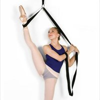 ballet stretcher - Flexibility Leg Stretcher for Ballet Younger Dancer Effective Flexible Body Exercise Durable band Hanging Training Strap cmx M