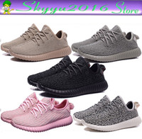 Wholesale With Original Box Receipt Boost Update Version Pirate Black With Green Suede Men WOMEN Boost Running Shoes Sneaker SIZE