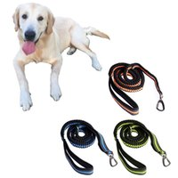 Wholesale Dog Training Leash Lead for Running Walking Hiking with Adjustable Spring Waist Belt Drop shipping