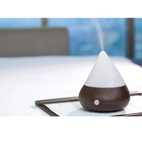 Wholesale CAROLA Aroma Diffuser Human Infrared Humidity Control Ultrasonic Diffuser Hours Working Time Scented Oil Diffuser ml dark wood