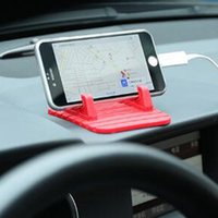 anti slip iphone - Universal Anti slip Car Phone Holder Adjustable Mobile Phone Holder Stand Bracket for iPhone Samsung Xiaomi Huawei