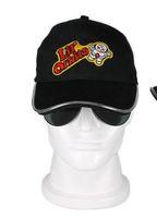 Wholesale 2016 new exotic luminous caps LED luminous baseball hat optical fiber travel shade hat