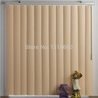 Wholesale Vertical stripe PVC office use vertical blind supplier from DTextile F series