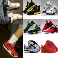 Wholesale High Quality Air Retro Man Basketball Shoes White Cement Fire Red Fear Black Cat Mens Women Outdoor Sports Shoes USsize8