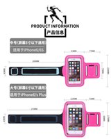armed pc cases - sell details For iPhone S for iPhone Sports Armband Arm Band Belt Cover Waterproof Running GYM Bag Case for iPhone Plus