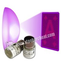 Wholesale Magic Props XF Color Filter See Through The Invisible Backside Marked Cards Anti Gamble Cheat