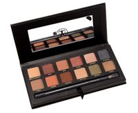 amazing eye makeup - 12 colors Eyeshadow kit Beautiful Bronzer Foundation Powder New Hot Sale Amazing Palette Makeup Set of Eye Shadow DHL fast C25
