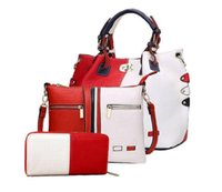Wholesale Casual Patchwork New Women Lady PU Clutch Bag Handbag Fashion Leather Designer Handbags Bags Totes For Woman
