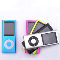 Wholesale slim th gen mp4 player Colors for choose Music fm radio video player