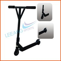 Wholesale 100 aluminium Pro stunt scooter for kids trick scooter free bar hot sales with kg user weight