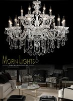 Wholesale Large crystal chandelier Arms Luxury crystal light Fashion chandelier crystal light Modern Large chandeliers