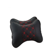 Wholesale 2Pcs set Warm Car headrest auto supplies neck Warm winter bone automobile care cervical headrest Car seat head cushion