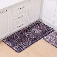 american country rugs - Welcome Vintage Country Style Kitchen Rug Runner Soft Floor Carpet Bath Entrance Door Mat