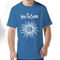 alice in chains shirt - For Men and women Alternative Rock Alice In Chains Adult Standard Weight T shirt Cotton